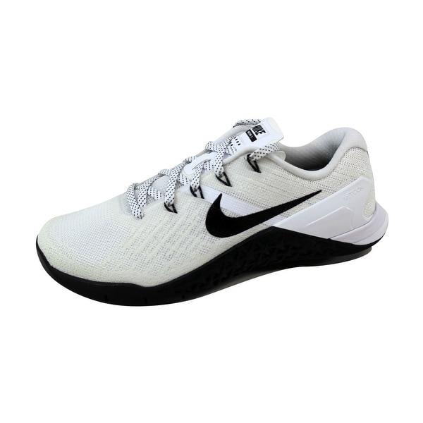 Nike Women's Metcon 3 White/Black 849807-100 Size 6