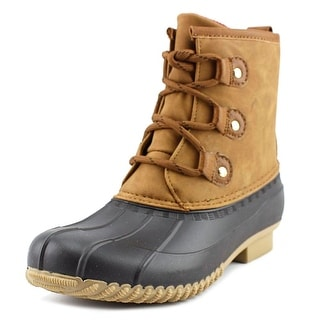Tommy Hilfiger Reanna 4 Women  Round Toe Synthetic Tan Rain Boot
