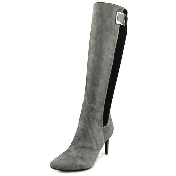 Calvin Klein Jaidia Women Shadow Grey Boots
