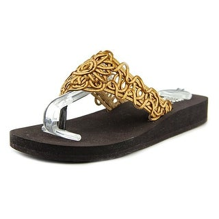 Yellow Box Jules II EW Open Toe Synthetic Thong Sandal