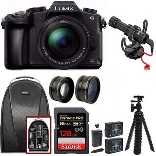 Panasonic LUMIX G85MK 4K Mirrorless Camera Kit w/ Video Micro Bundle