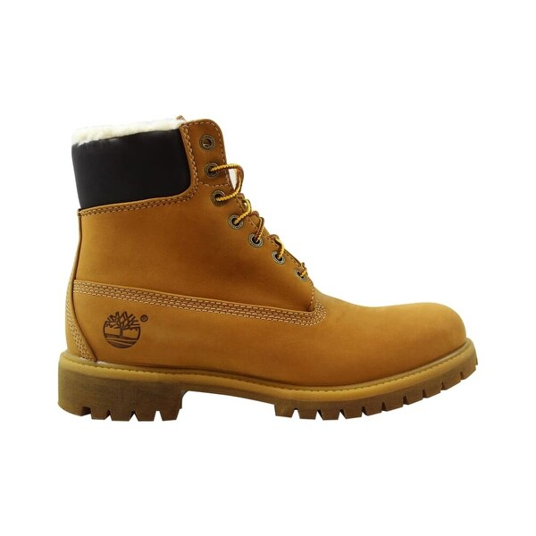 Shop Timberland 6 Inch Fur Lined Wheat TB0A13GA Men's Free