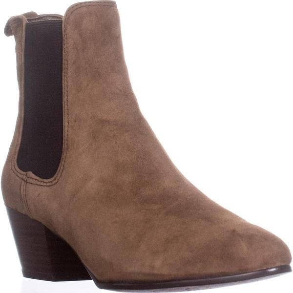 Sam Edelman Reesa Pointed-Toe Ankle Booties, Brown Suede - 6 us / 36 eu