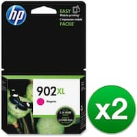 HP 902XL High Yield Magenta Original Ink Cartridge (T6M06AN) (2-Pack)