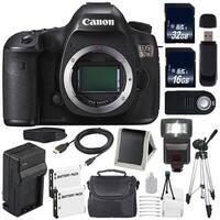 Canon EOS 5DS DSLR Camera (International Model) (0581C002) + 32GB Card + 16GB Card Bundle