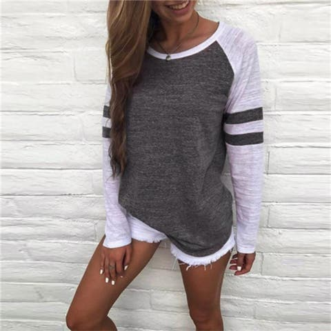 Cool and Comfy Varsity Style Shirt