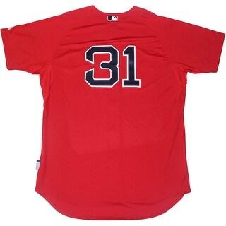 jon lester boston red sox authentic cool flow 31 scarlett jersey .