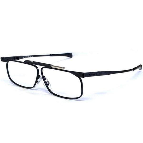 73f4488a00106 Kanda Slimfold Model 3 Black Titanium Temples 2.00 Folding Reading Glasses