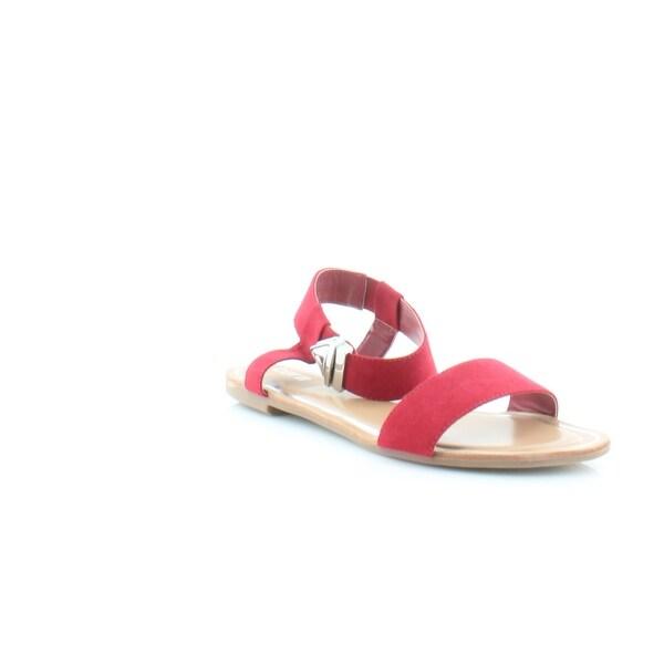 Bar III Victor Women's Sandals & Flip Flops Red - 8.5