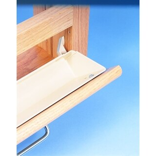 """Rev-A-Shelf 6562-14-52 6561 Series 14"""" Tab Stop Sink Front Trays (Set of 2)"""