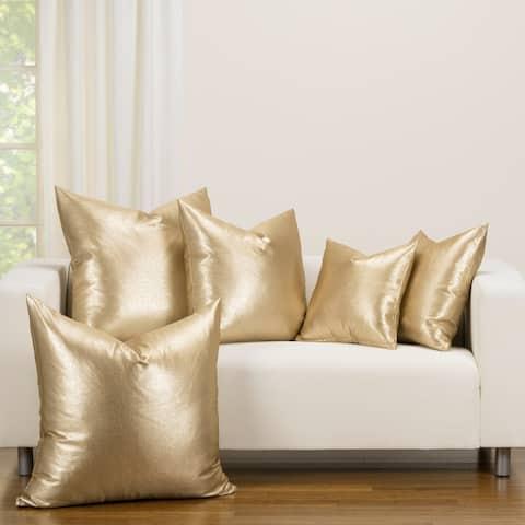 F Scott Fitzgerald Rendezvous Golden Accent Throw Pillow