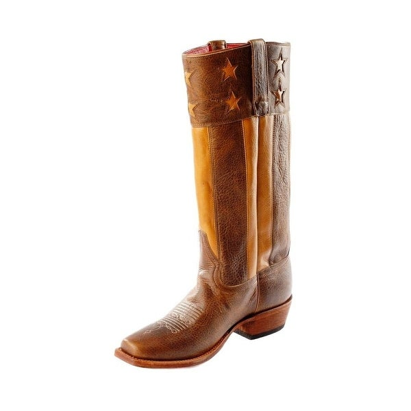 Macie Bean Western Boots Womens Lacey Liberty Tall Damiana Tan