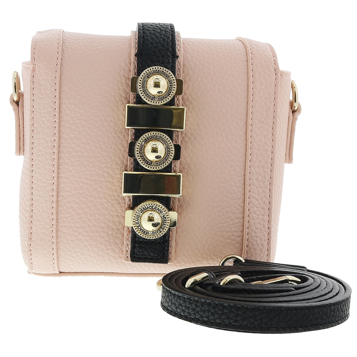 19d0d287f Shop Versace EE1VRBBH6 Soft Pink Crossbody Bag - Free Shipping Today -  Overstock - 25613900