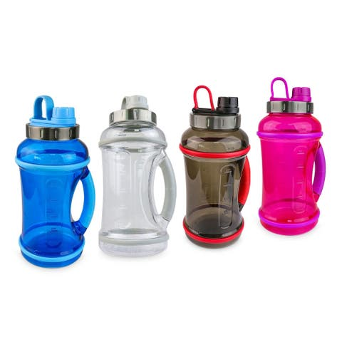 70oz Sport Water Bottle with Twist-Off Lid & Carry Handle