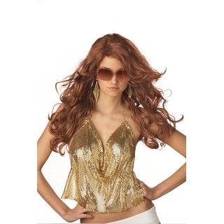 Auburn Sexy Super Model Wig for Adult Halloween Costume
