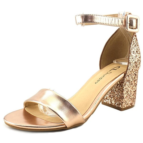 4708e76de9d8 Shop CL By Laundry Jody Women Open Toe Synthetic Gold Sandals - Free ...