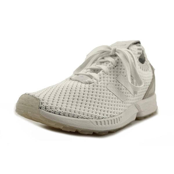 Adidas ZX Flux Prime Knit Men Round Toe Synthetic White Running Shoe
