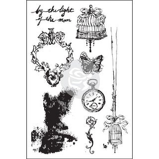 """Epiphany Cling Rubber Stamps 4""""X6""""-"""