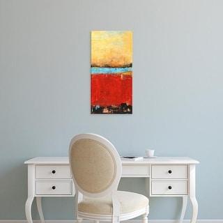 Easy Art Prints Erin Ashley's 'Golden Dawn II' Premium Canvas Art