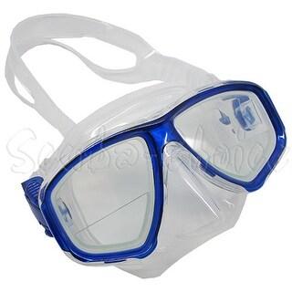 Scuba Blue Dive Mask FARSIGHTED Prescription RX 1/3 Optical Lenses