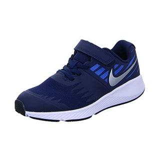 best sneakers 664d0 99183 Nike Boy s Star Runner (Ps) Pre School Shoe Obsidian Metallic Silver Signal