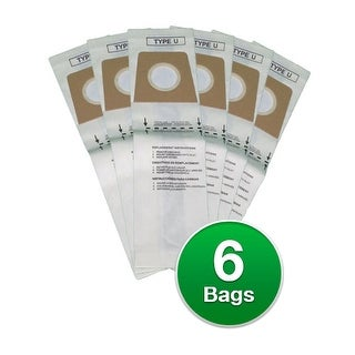 Replacement Vacuum Bag for Royal Powercast Vacuums - 2 Pack