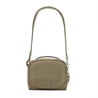 Pacsafe Metrosafe LS140-Earth Khaki Anti-theft Compact Shoulder Bag