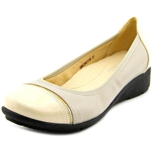 Patrizia By Spring Step Imaginative Round Toe Leather Ballet Flats