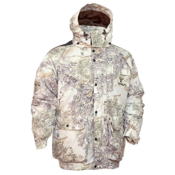 Shop King S Camo Insulated Parka Snow Shadow Jacket