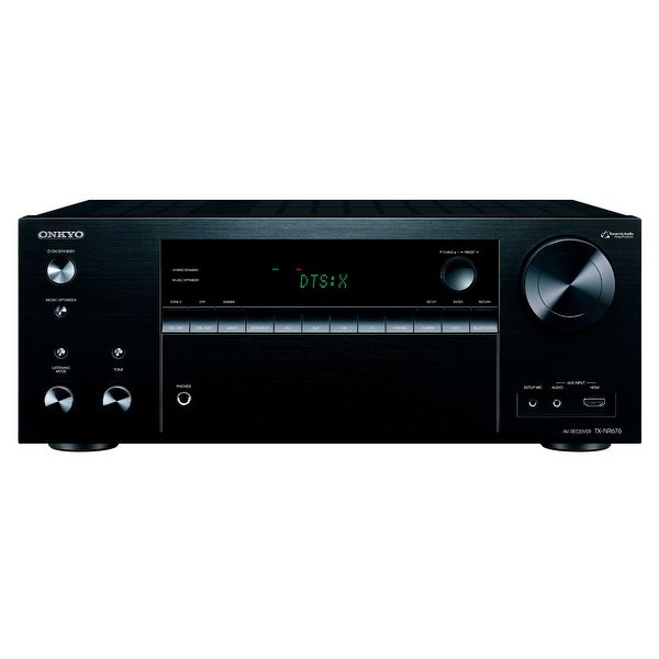 Onkyo TX-NR676 7.2-Channel Network A/V Receiver with Spotify, Airplay, and Chromecast