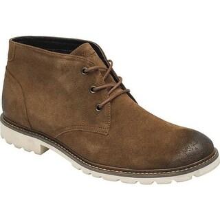 Rockport Men's Sharp & Ready Chukka Boot Tobacco Suede