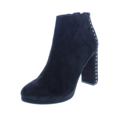 Guess Womens Beverly 2 Ankle Boots Faux Suede Grommet