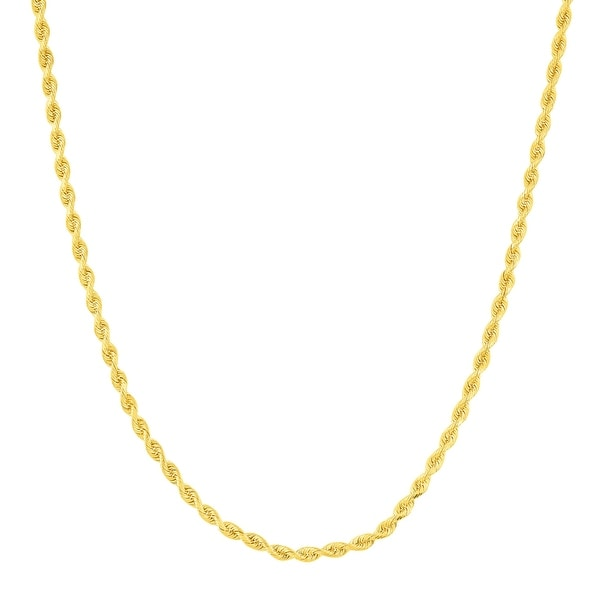 Just Gold 20-Inch Quintuple Rope Chain in 14K Gold - Yellow
