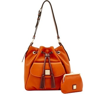Dooney & Bourke Portofino Drawstring & Large Frame Purse (Introduced by Dooney & Bourke at $388 in Sep 2017)