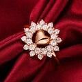 Lovely Love Rose Gold Ring - Thumbnail 2