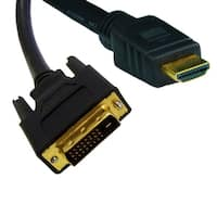 Offex HDMI to DVI Cable, HDMI Male to DVI Male, CL2 rated, 6 foot