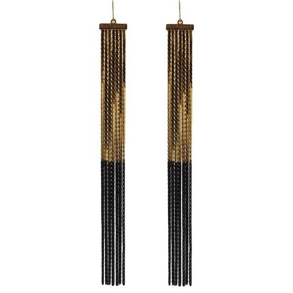 b35c01abcd CC Skye Womens Chandelier Earring Plated Chain - Gold/Black