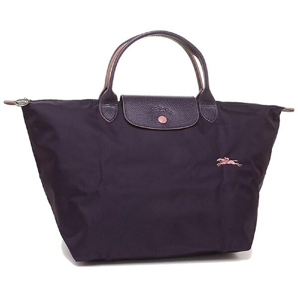 LongChamp Le Pliage Club Top Handle Small Handbag. Opens flyout.
