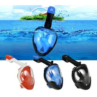 Full Face Snorkeling Mask Scuba Diving Surface Swimming Snorkel for GoPro L/XL/S