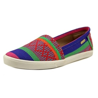 Kaanas Acapulco Women Round Toe Canvas Multi Color Espadrille