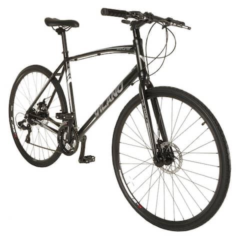 Vilano Diverse 3.0 Performance Hybrid 24-speed Road Bike, Disc Brakes