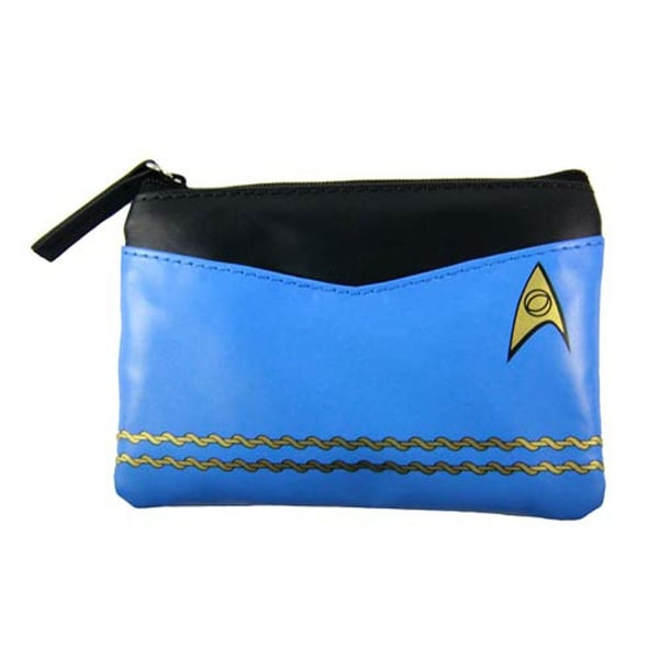 Star Trek Blue Uniform Coin Purse