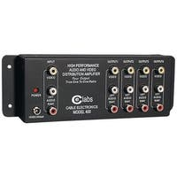 Ce Labs Av 400 Prograde Composite A/V Distribution Amp (1 Input - 4 Output)