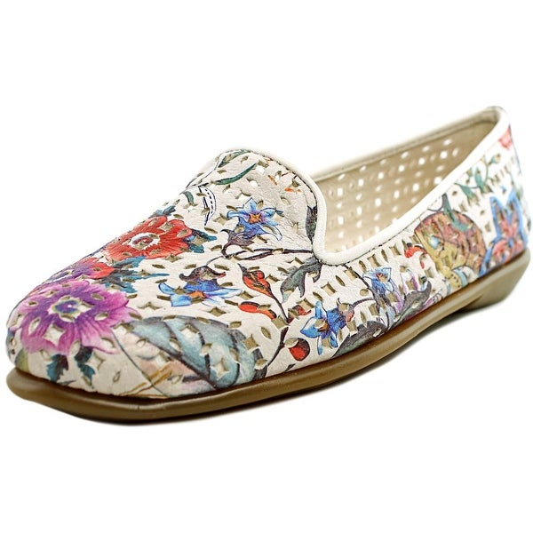 Aerosoles You Betcha Women Round Toe Leather Multi Color Loafer