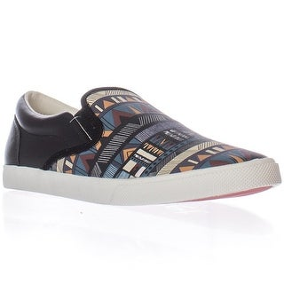 bucketfeet Kris Tate Itzen Slip-on Fashion Sneakers - Black/Gum