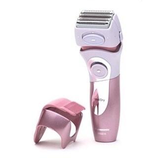 Panasonic Es2216pc Close Curves WomenS Electric Shaver, 4-Blade Cordless Electric Razor With Bikini Attachment And Pop-