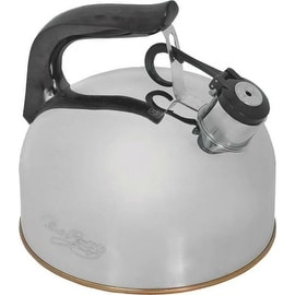 Norpro 5628 Whistling Tea Kettle, Stainless Steel, 2-1/3 Quarts