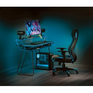 Link to Porch & Den Higby Leveled Gaming Desk Similar Items in Desks & Computer Tables
