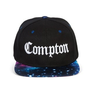 City Compton Adjustable Black/Galaxy Snapback
