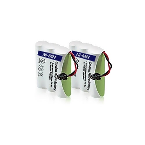Replacement Panasonic KX-TG200C NiMH Cordless Phone Battery (2 Pack)